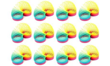 Set of 12 VT Rainbow Magic Spring Children's Kid's Toy Novelty Springs f9ee2257-ac12-4cd4-9519-dcbd99092649