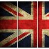 Vintage UK Flag - Contemporary Metal Wall Art
