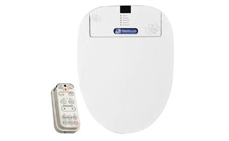 BIDET4ME Elongated Bidet Electronic Toilet Seat, E-200B Remote Control photo