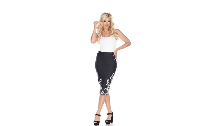 Black Jordan Pencil Skirt