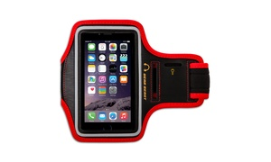 Gear Beast Running Armband Case for Cell Phones Reflective Band with Key Holder