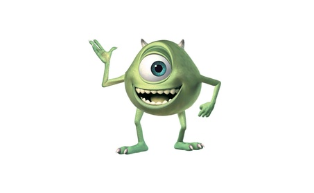 Roommates Monsters Inc Mike Giant Wall Decal 630fcc8a-1cef-48a0-9d2b-f2dcce5eb78c