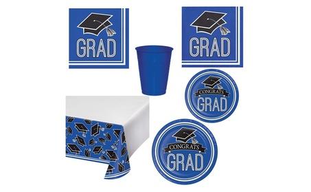 2018 Graduation School Spirit Blue Party Supplies Kit c956161d-4496-476c-ab47-5e4f58d811e9
