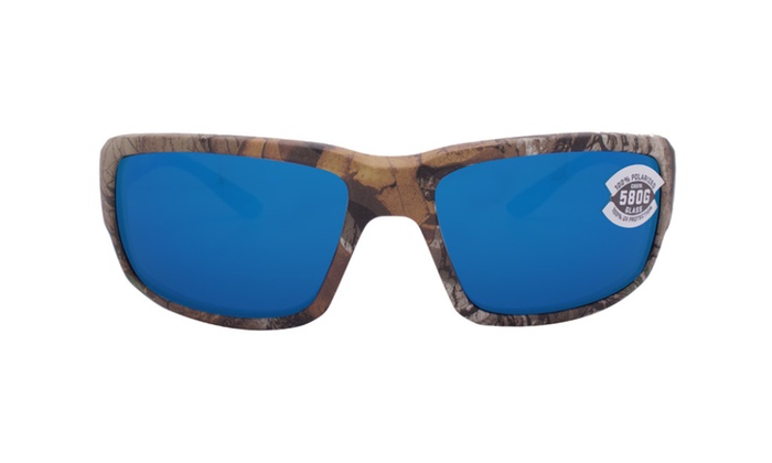 ae408ebeb1 Costa Del Mar Fantail TF 69 OBMGLP Realtree Xtra Camo   Blue Mirror ...