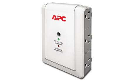 Schneider P6W APC Essential SurgeArrest 6 Outlet Wall Mount, 120V ee255969-2107-48b5-bc15-b8334d14a7f8