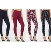 Women's Printed or Solid Leggings