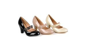 Journee Collection Womens Wide Width Mary Jane Pumps
