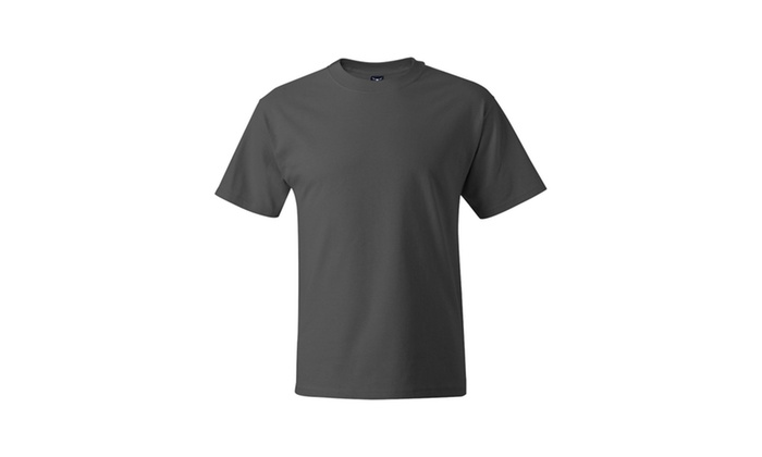 Hanes Beefy T 5180 Short-sleeve T-Shirt, Solid-1