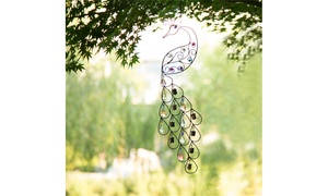 Glitzhome Metal Beaded Wind Chimes