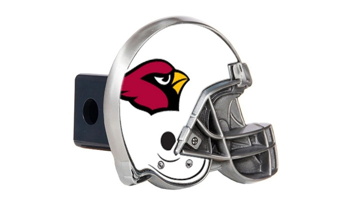 3e4696ef Up To 17% Off on NFL Helmet Trailer Hitch Cover | Groupon Goods