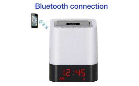 Boytone BT-83CR Portable FM Radio Alarm Clock Wireless Bluetooth 4.1 efb26a0d-5b0c-4c0f-bac3-c8032f210494