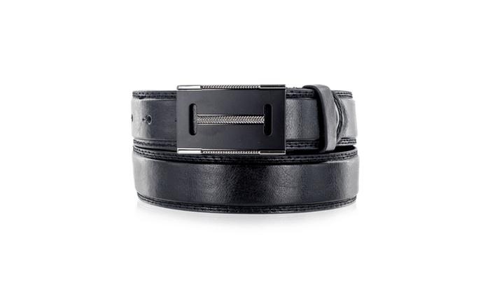 Faddism Men's Genuine Leather Belt Elegant Design