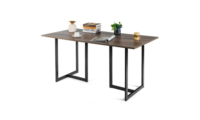 Up To 46 Off On 60 Industrial Dining Table R Groupon Goods