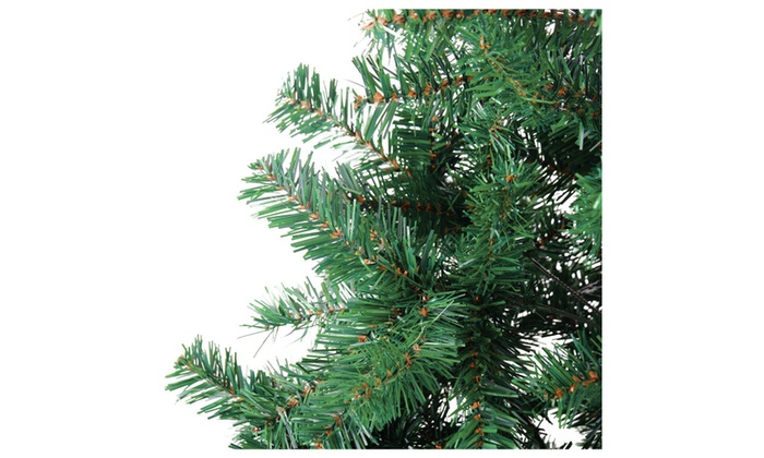 98c483c0201 4 6 7 9.8 Feet Tall Christmas Tree With Stand Color Green