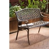 Eastwood Antique-Design Cast Aluminum Outdoor Bench