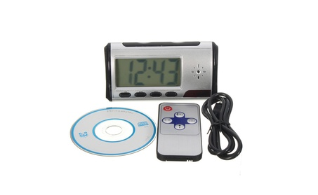 Alarm Clock With Built-in Spy Camera Security Camera