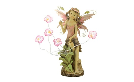 Home Locomotion 10013915 Peony Fairy Solar Statue 89d046a0-ef12-4014-a7d8-f314bd06e304