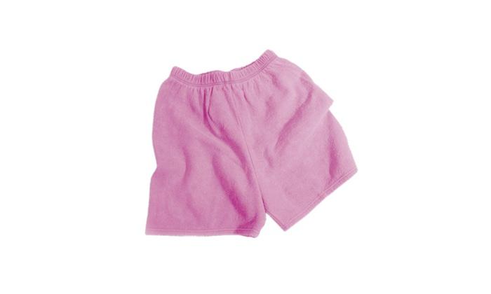 Chammyz Cut-off Shorts - Sunset Red