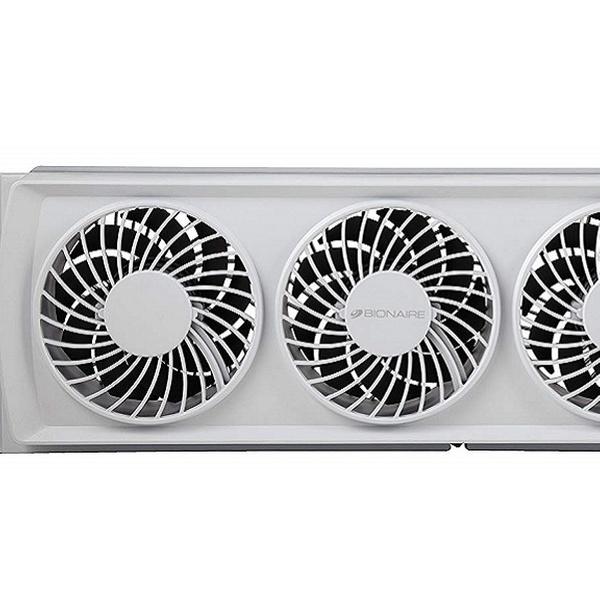 White Bionaire BWF0502M-WM Thin Window Fan