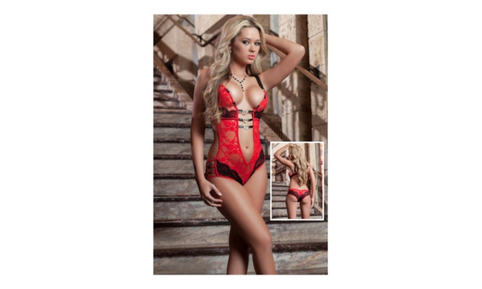 977904f2c31 Women s Lingerie Erotic Foreplay Lace Teddy
