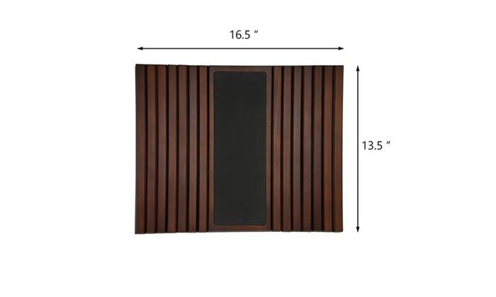 Prime Kleeger Flexible And Portable Sofa Arm Wood Tray Table Groupon Spiritservingveterans Wood Chair Design Ideas Spiritservingveteransorg