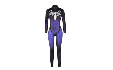 Lady Halloween Venom Spiderman Costume Girl Cosplay Suit 257cc220-4af2-4feb-be80-873aaa1ea7de