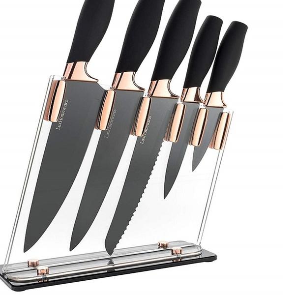 Up To 40 Off On 6 Piece Knife Set 5 Beautiful Groupon Goods