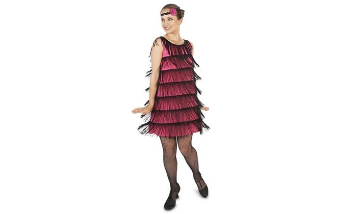 20's Bright Flapper Adult Costume