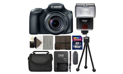 image for Canon Powershot SX60 16.1MP Digital Camera 65x Optical Zoom Black