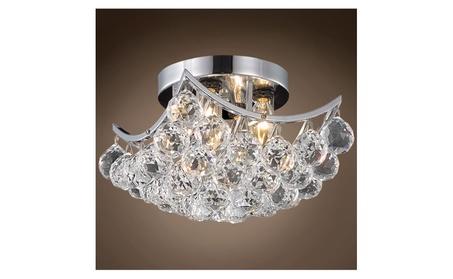 Contemporary Square Crystal Flush Mount Modern Ceiling Light Fixture 3ba8e778-cc5a-41af-a7fe-d47011f261d2