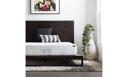 LUCID Comfort Collection 10-inch Gel Memory Foam Mattress - Mulitple Options