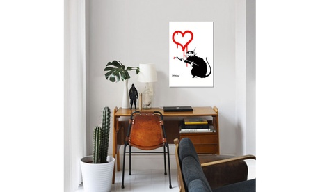 Love Rat by Banksy cfd253f6-0136-4546-a874-0bb0f962e805