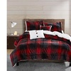 Bransen Plush Micromink Reverse to Sherpa Comforter Sets (4 or 5-Piece)