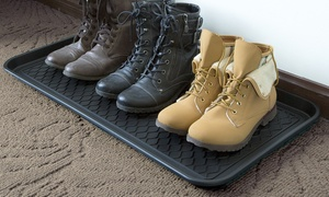 Stalwart Eco-Friendly Utility Boot Tray Mat