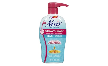 Nair U-BB-2642 13 oz Unisex Shower Power Nourish Moroccan Argan Oil c3dce357-9dcc-479e-97b5-c21ff65ba41f