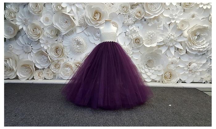 dae0207ac Eggplant Tutu Dress,Flower Girl,Birthday,Party Dress. | Groupon