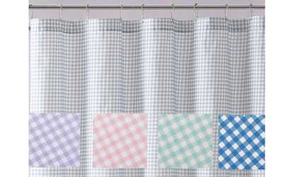 Image Placeholder For Truly Soft Everyday Gingham Shower Curtains