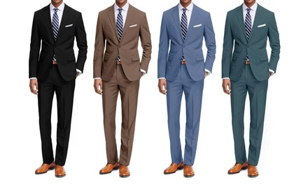 Braveman Men's Classic Fit 2PC Fashion Suits