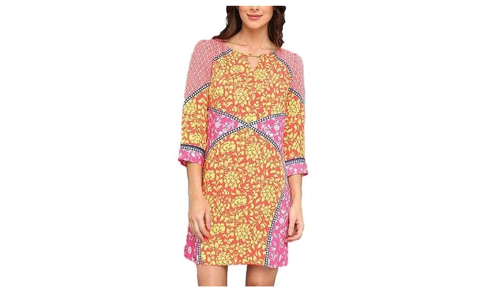 Women's Polyester Floral Casual Slim Fit Printed Dress