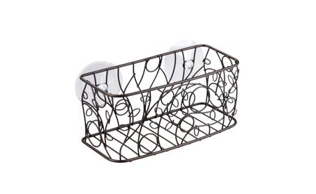 InterDesign Twigz Suction Bathroom Shower Caddy Basket f9b88eda-d800-49af-ad5c-98e85c582e4d