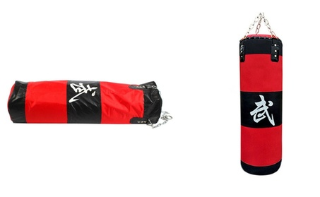 Sport Boxing Heavy Punching Bag with Chain Sandbags Practice