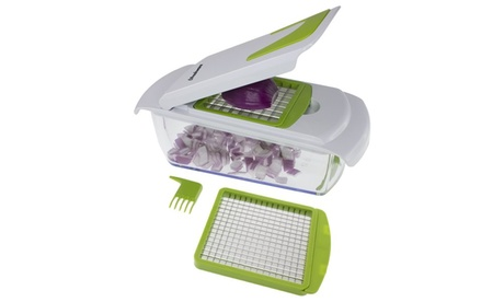 Freshware KT-402 2-in-1 Onion, Vegetable, Fruit, and Cheese Chopper 8ceaf23e-bc14-4bf0-94d6-79662593daa6