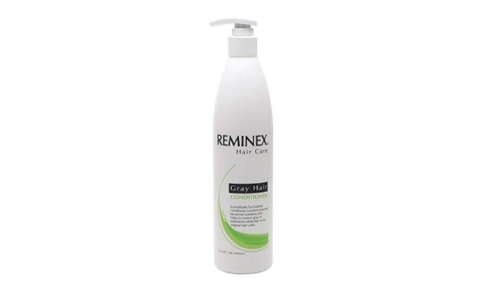 Reminex Grey Hair Conditioner Helps Restore Gray White Hair To Original Color