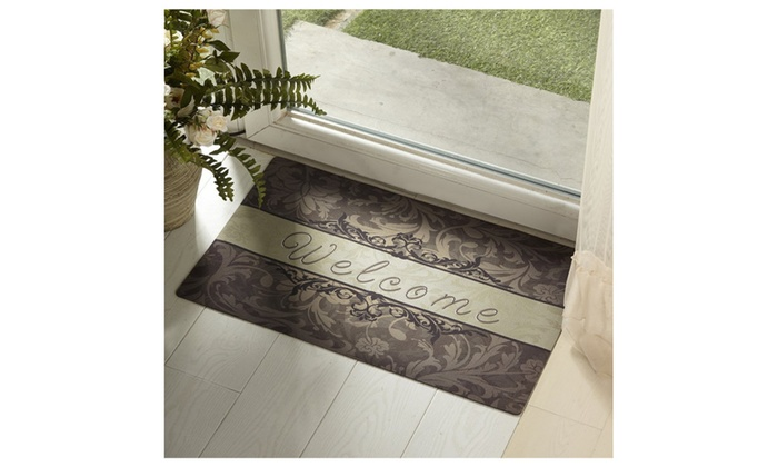 rubber welcome door mat front entry way funny mats outdoor monogrammed uk