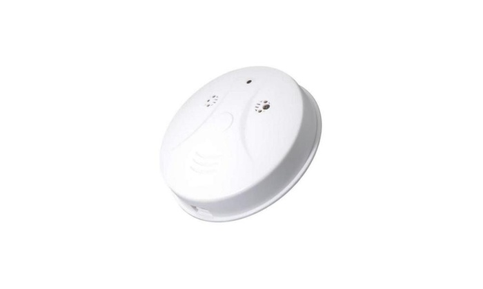 Up To 56 Off On Smoke Detector Hidden Hd Spy Groupon Goods