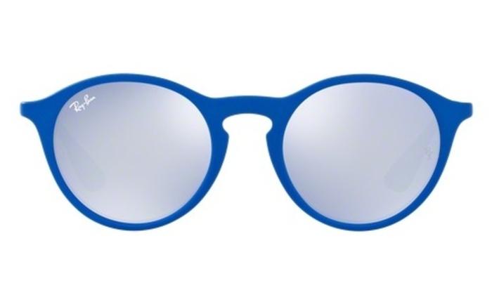 01cf17db757 Ray-Ban Blue Gunmetal Grey Lens Sunglasses RB4243-62631U-49