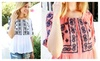 Riah Fashion: Summer Embroidered Top
