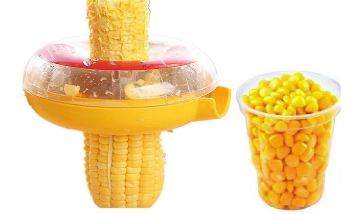 Up To 53% Off on Corn Peeler Thresher Kitchen ... | Groupon ...