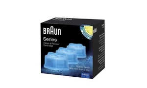 Braun Cartridge and Refill Cleaning Solution (3-Pack)