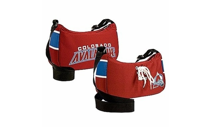 size 40 9d7e5 ff3e8 Little Earth Productions 500102-AVLN Colorado Avalanche Team Jersey Purse